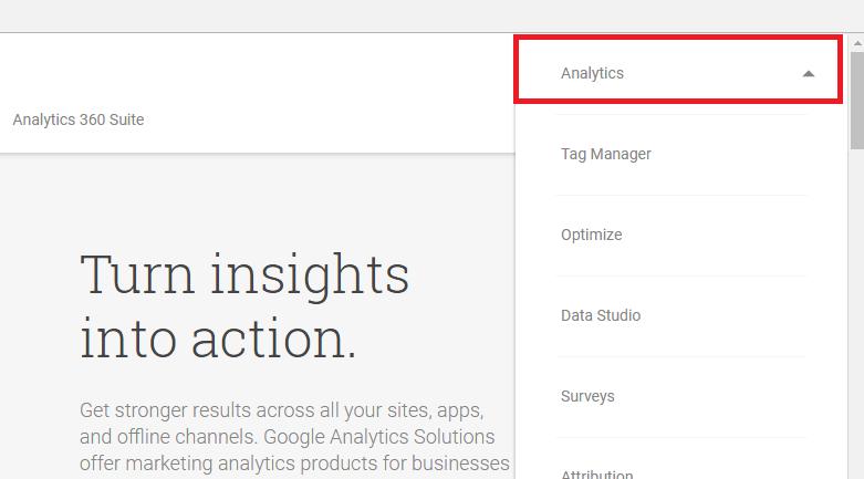 ساخت گوگل انالیز برای سایت یا وبلاگ