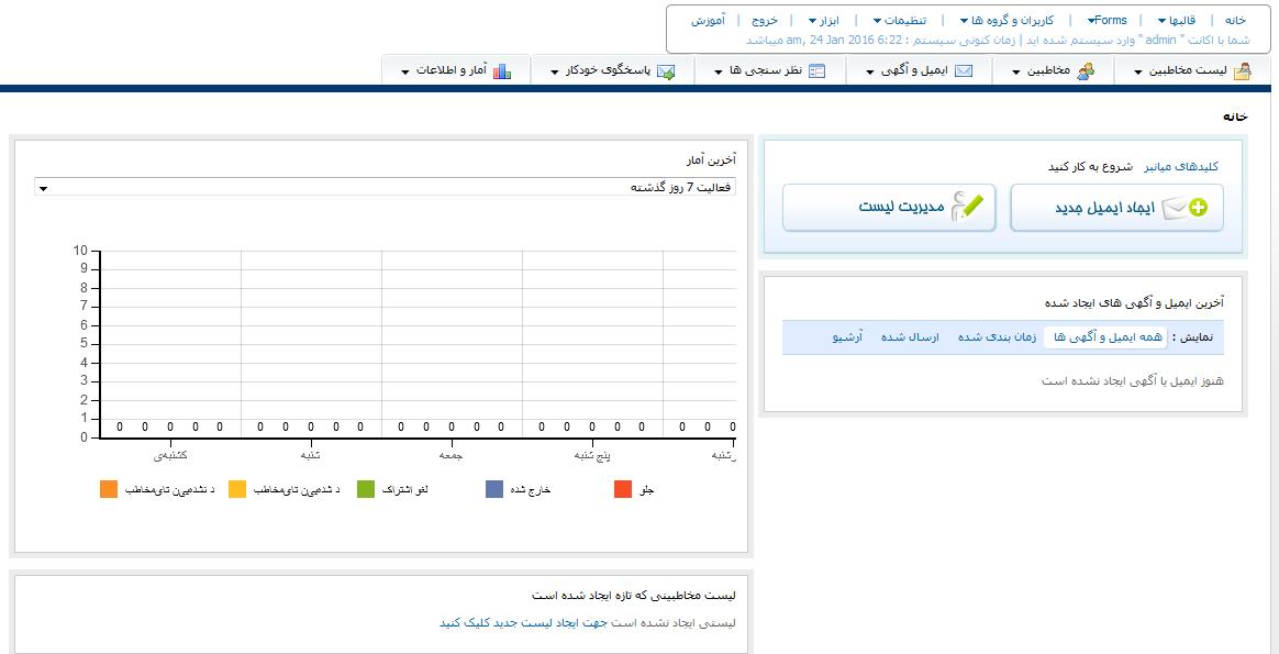 سرور ارسال ایمیل فارسی