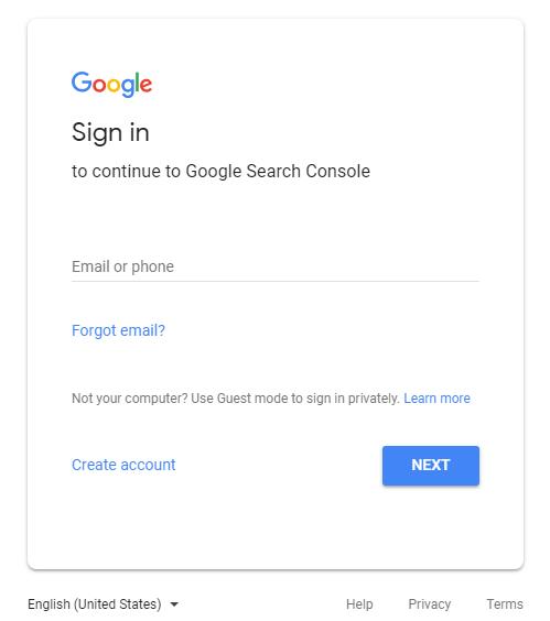 ورود به گوگل