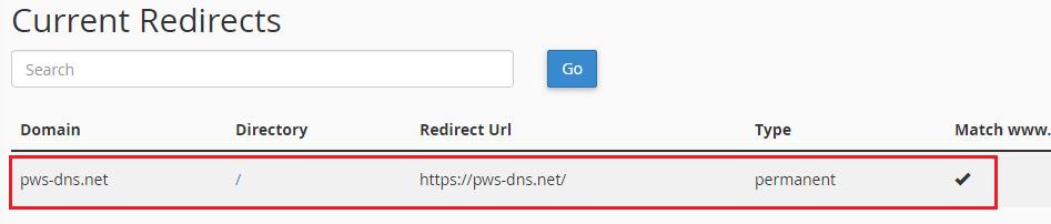 ریدایرکت برای ssl