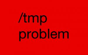 افزایش حجم در tmp