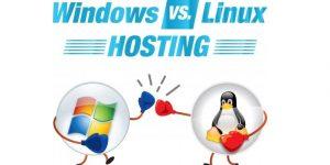 تفاوت های هاست ویندوز با لینوکس