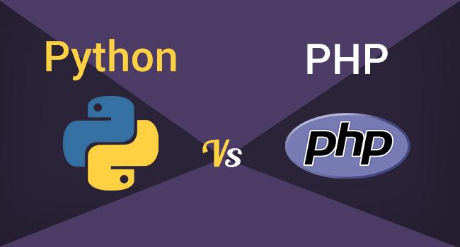 مقایسه زبان های Python و PHP