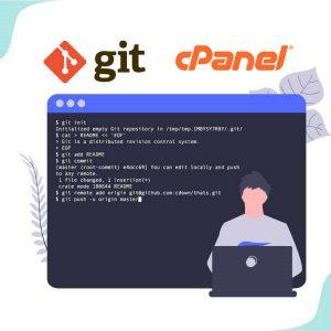 آپلود فایل های پروژه به هاست توسط Git Version Control