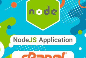 راه اندازی پروژه NodeJS با قابلیت NodeJS Application