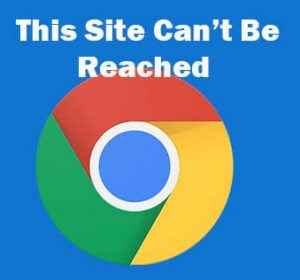 آموزش رفع ارور This site can't be reached