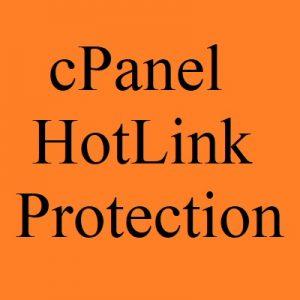 آموزش فعال سازی Hotlink Protection در سی پنل