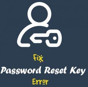 آموزش رفع ارور Could not save password reset key to database در وردپرس